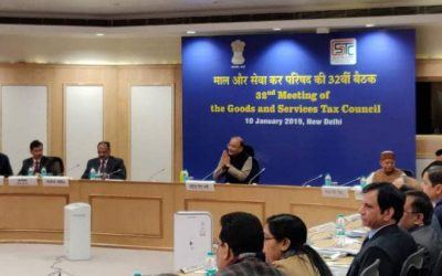 GST Council Meet: GST exemption limit increased from Rs 20 lakhs to Rs 40 lakhs