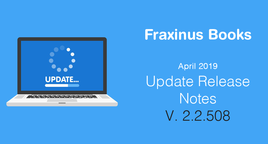 Release Notes – Update 2.2.508 – April 2019