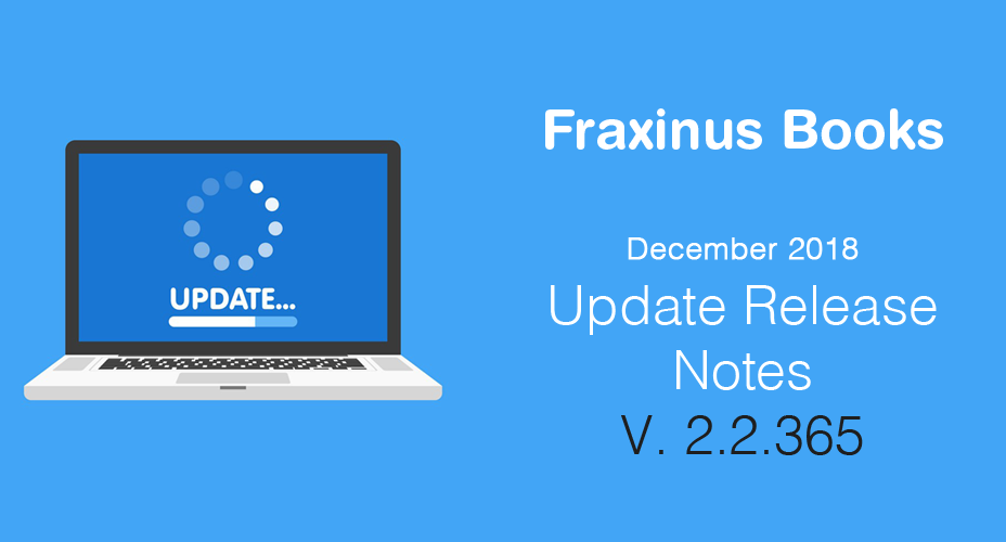 Release Notes – Update 2.2.365 – December 2018